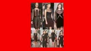 видео Черное платье, с чем носить длинные и короткие варианты?