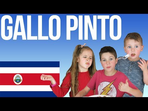 American Kids Try Food From Costa Rica | Gallo Pinto