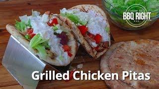 Grilled Chicken Pitas Recipe