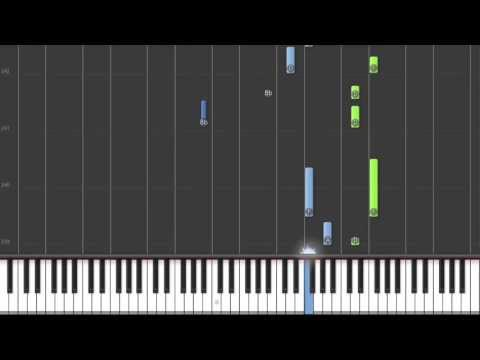 Blood Diamond Theme Tutorial Piano Synthesia (My Version)