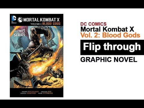 mortal-kombat-x-volume-2-blood-gods-graphic-novel-flip-through