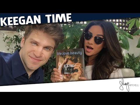 "Chatting with Keegan Allen About ""life. love. beauty""  Shay Talk"