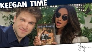 """Chatting with Keegan Allen About """"life. love. beauty"""" 