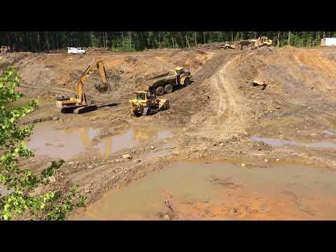 Reclamation work at Sugar Ridge FWA