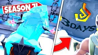 *NEW* POLAR PEAK ICE CHUNK *MELTED FULLY* REVEALING FIRE KING IS BREAKING OUT! SEASON 7 UPDATE!: BR