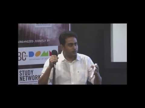 Saumyadipta Banerjee - Chief of Bureau, Times of India, Mumbai DOMM LIFE Seminar Part 1