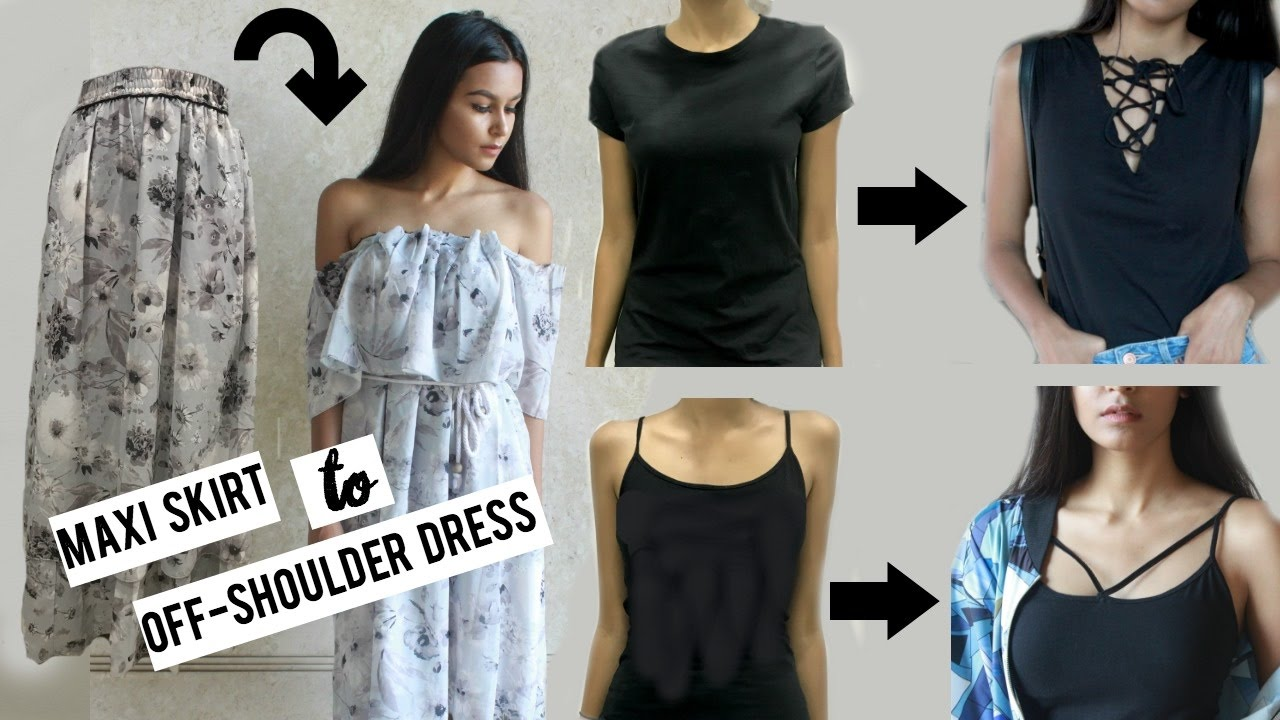 DIY Clothes From Old T-shirts - YouTube