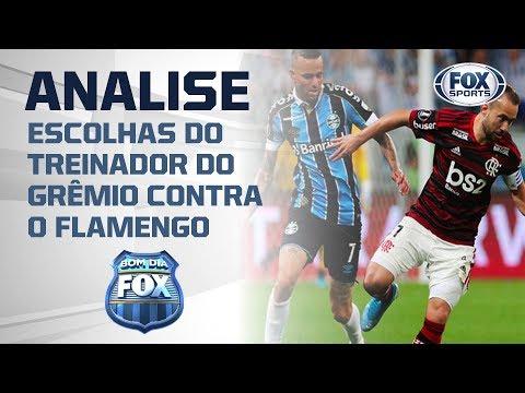 DEU RUIM PRO RENATO GAÚCHO? Bancada analisa escolhas do treinador do Grêmio contra o Flamengo