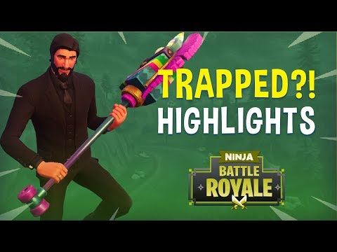 Trapped?! - Fortnite Battle Royale Highlights - Ninja