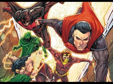 Nerdlocker Comic Book Review - Justice League 3000 #1