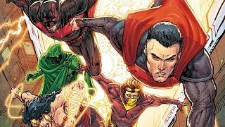 Nerdlocker Comic Book Review - Justice League 3000 #1