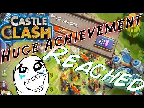 Castle Clash HUGE Achievement Reached!!!