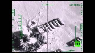 المقاتلات الروسية تستهدف أسطول داعش لتهريب النفط من سوريا إلى العراق