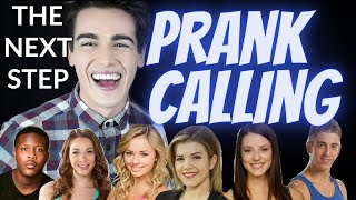 The Next Step - Prank Calling The Cast // Brit & Bren