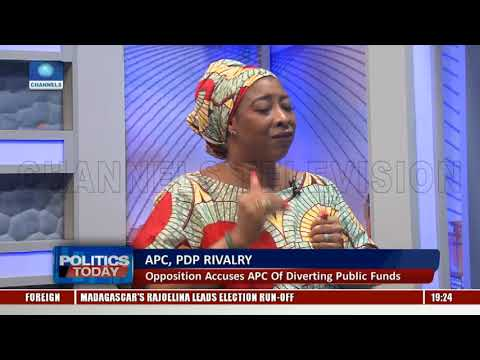 APC, PDP Rivalry: Opposition Accuses APC Of Diverting Public Funds Pt.2 |Politics Today|