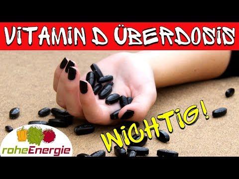 Vitamin D Überdosierung