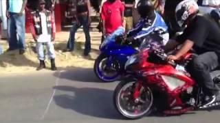 St Maarten bikes racing