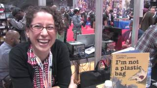 Rachel Allison @ New York Comic Con (12-Oct-2012)