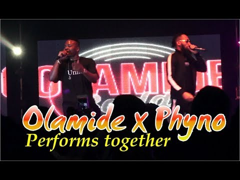 OLAMIDE x PHYNO Performs together @ CULTURE TOUR CONCERT 2017, LONDON