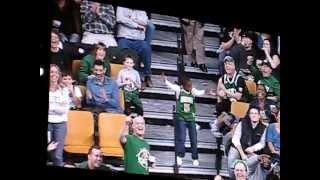 TD Garden Boston Celtics Jumbo-Tron Dance Off Video By Stewart Smith Photography