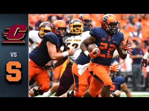 Syracuse Vs. Central Michigan | 2015 ACC Football Highlights