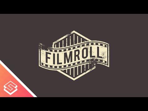 Inkscape Tutorial: Aged Film Roll Logo Design