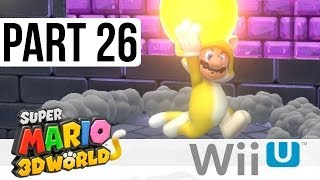 Super Mario 3D World Special World Flower World - Gameplay Walkthrough Part 26 - 11-3, 11-4, 11-5