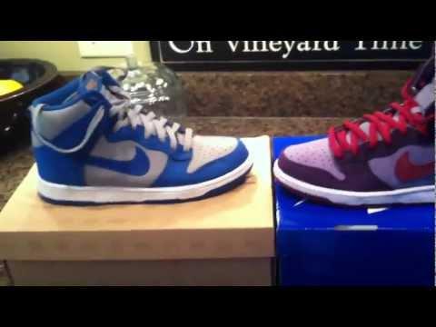 Nike Dunk High vs Dunk High SB Sneaker