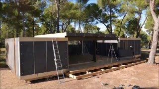 видео Преимущества сэндвич-панелей в строительстве