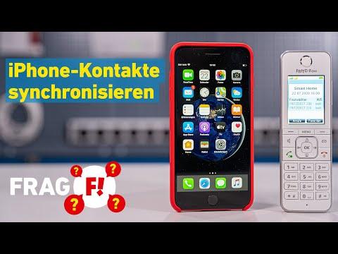 Kontakte synchronisieren zwischen iPhone und FRITZ!Box | Frag FRITZ! 026