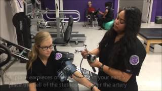 Manually Measuring Blood Pressure