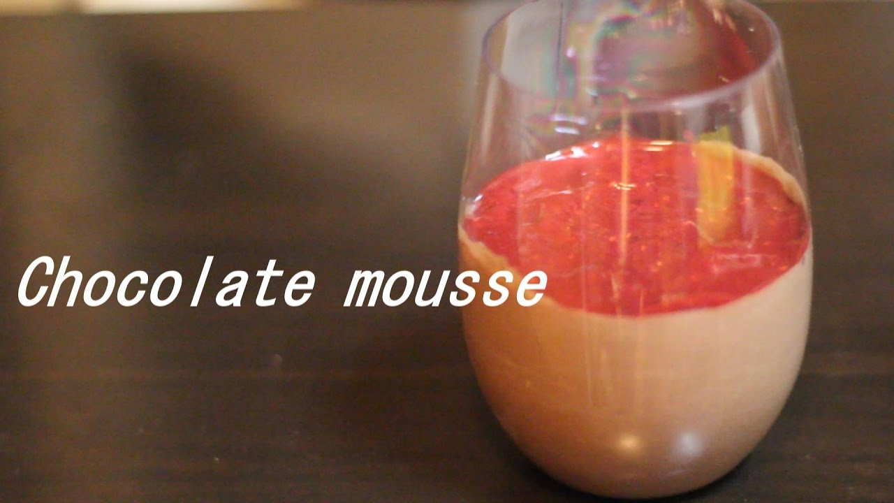 how to make easy chocolate mousse youtube