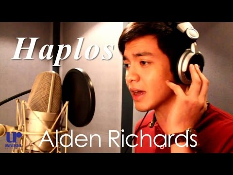 Alden Richards - Haplos - Recording Session