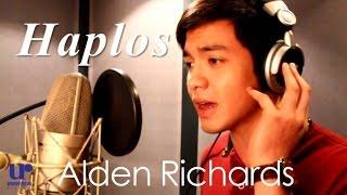 Alden Richards - Haplos - Recording Session