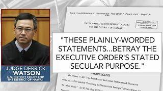 Federal judges block Trump's new travel ban