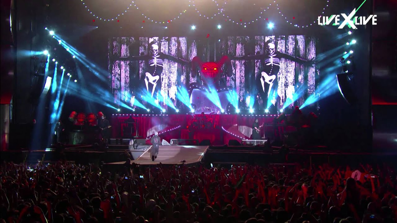 Slipknot Live Performance Highlights At Rock In Rio 2015 Youtube