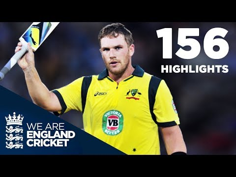 Aaron Finch 156 Off 63 - Highest Ever IT20 Score | Full Highlights