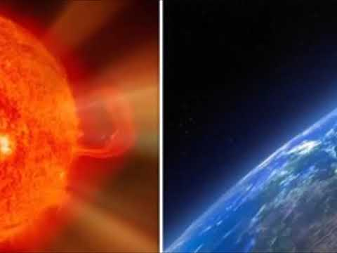Solar Storm INCOMING: Massive Blast of Cosmic Rays from the Sun Heading to Earth by FRIDAY!