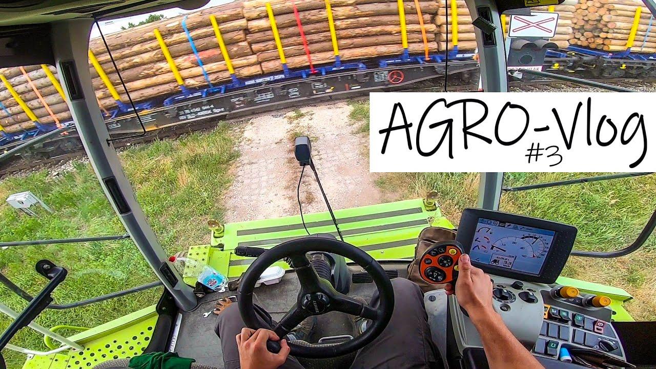 Download AGRO-Vlog #3 Lištovanie a presun 🌾✅ Claas Lexion 670