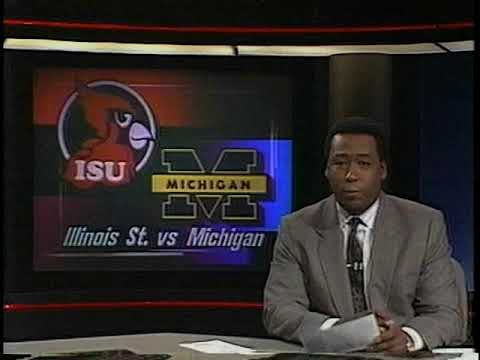 March 1990 - John Saunders on the Anchor Desk