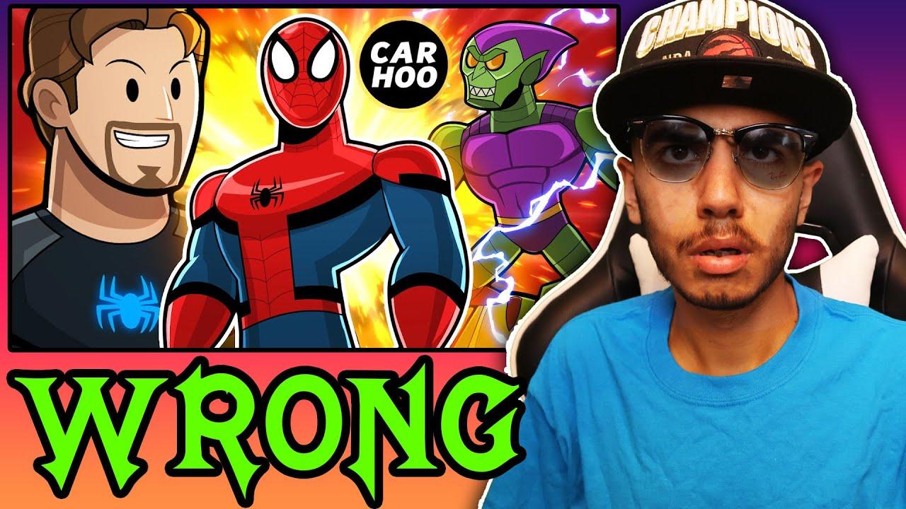Download SPIDER-MAN's REAL ORIGIN STORY (CartoonHooligans) | Reaction!