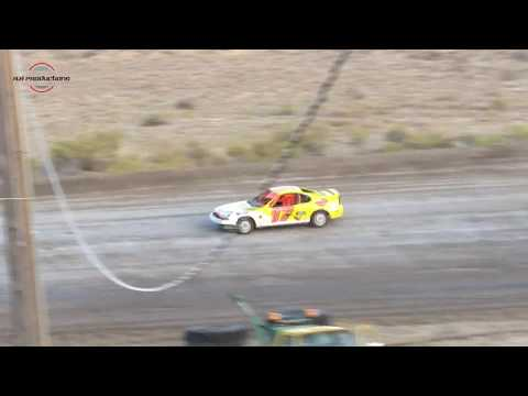 Desert Thunder Raceway Mini Stock Heat Race 9/29/18