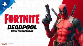 Fortnite | Deadpool Has Arrived | PS4
