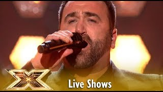Danny Tetley Takes On Madonna's Crazy For You | Live Shows 2 | The X Factor UK 2018