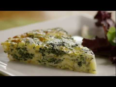 how-to-make-crustless-spinach-quiche-|-allrecipes.com