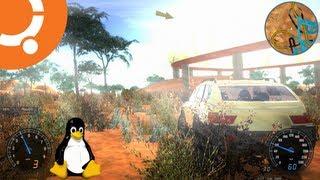 Stunt Rally 2.0 Gameplay On Ubuntu 13.04 Linux (Native)