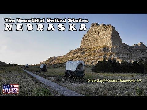 USA State of Nebraska Symbols / Beautiful Places / Song BEAUTIFUL NEBRASKA w/lyrics