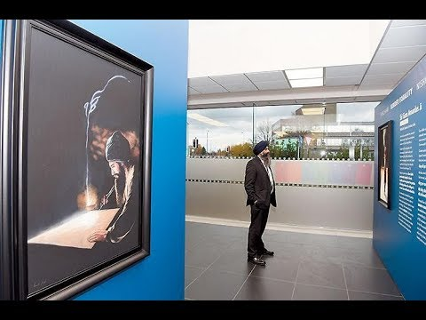 Sikh Channel Documentary - Art of Punjab paintings by Kanwar Singh