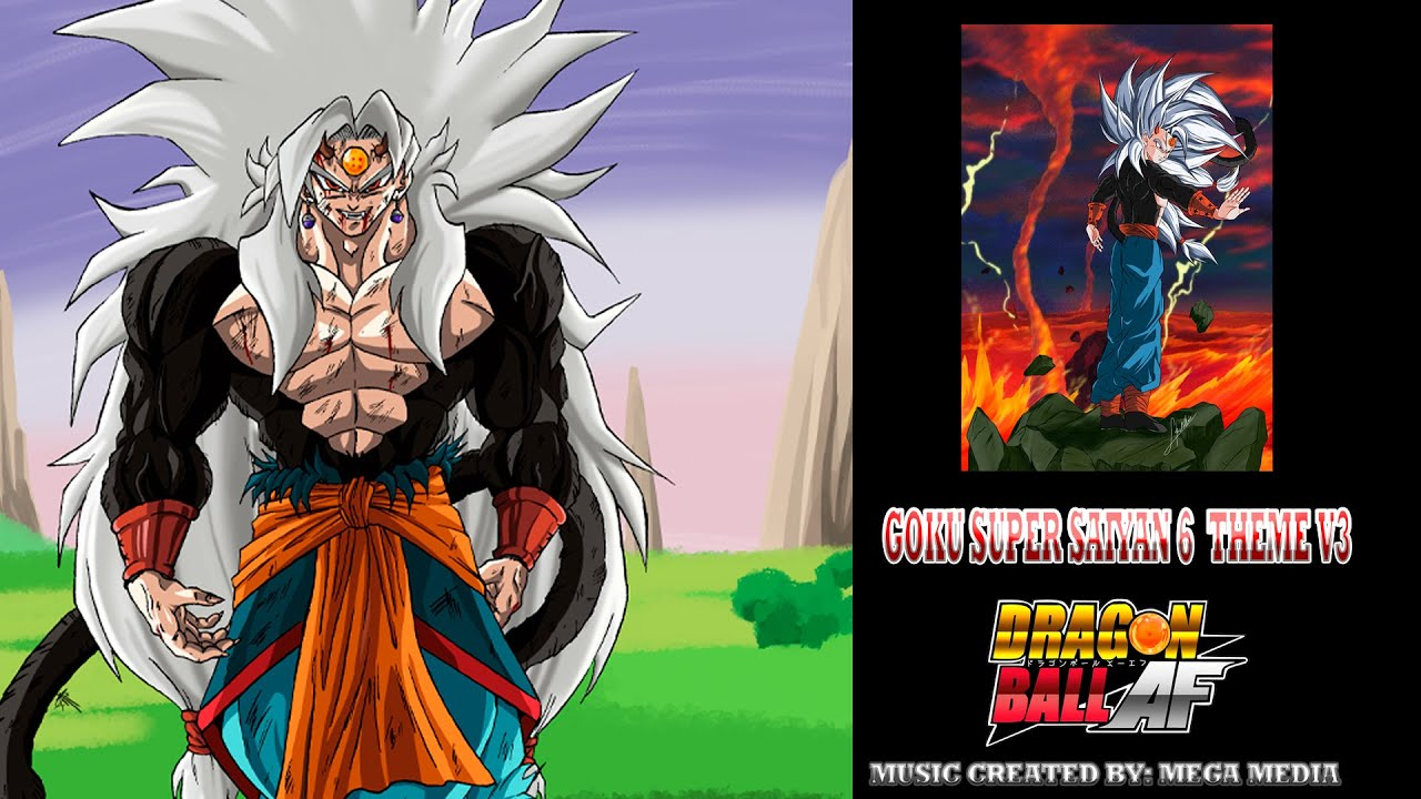 Download Goku Super Saiyan 6 Theme V3 - Dragon Ball AF