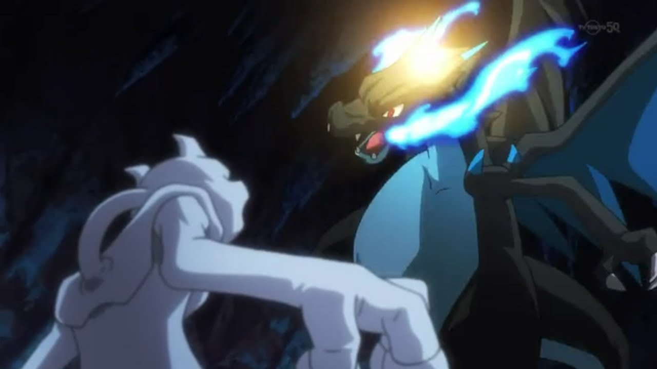Pokémon The Origin ポケットモンスター Mewtwo Vs Mega Charizard